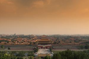 China 10MKm2 Collection - Forbidden City at Sunset by Philippe Hugonnard