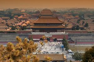 China 10MKm2 Collection - Forbidden City in autumn - Beijing by Philippe Hugonnard