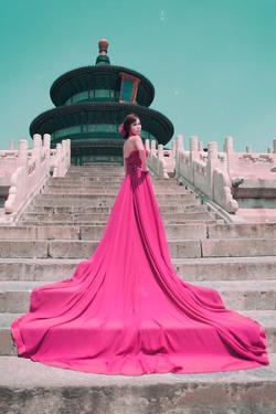 China 10MKm2 Collection - Instants Of Series - Fashion Pink by Philippe Hugonnard