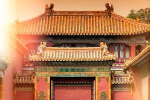 China 10MKm2 Collection - Instants Of Series - Forbidden City Architecture by Philippe Hugonnard