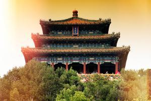 China 10MKm2 Collection - Instants Of Series - Forbidden City Temple by Philippe Hugonnard