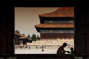 China 10MKm2 Collection - Moment of Life - Forbidden City by Philippe Hugonnard