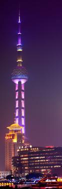 China 10MKm2 Collection - Oriental Pearl Tower at Night - Shanghai by Philippe Hugonnard