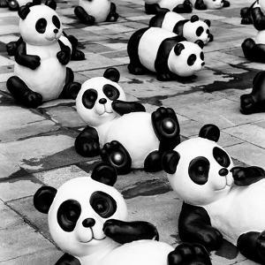 China 10MKm2 Collection - Psychedelic Pandas by Philippe Hugonnard