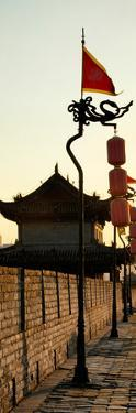 China 10MKm2 Collection - Shadows of the City Walls at sunset - Xi'an City by Philippe Hugonnard