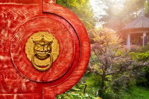 China 10MKm2 Collection - The Door God - Garden Light by Philippe Hugonnard