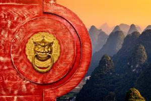 China 10MKm2 Collection - The Door God - Karst Peaks by Philippe Hugonnard