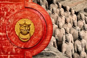China 10MKm2 Collection - The Door God - Terracotta Army by Philippe Hugonnard