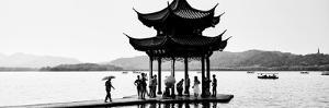 China 10MKm2 Collection - Water Pavilion at sunset by Philippe Hugonnard