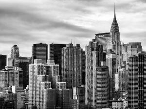 Cityscape Manhattan and the Chrysler Building by Philippe Hugonnard