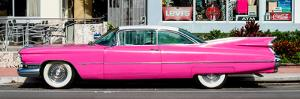 Classic Pink Cars of South Beach - Miami - Florida by Philippe Hugonnard
