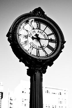 Clock - Madison Square garden - Manhattan - New York - United States by Philippe Hugonnard