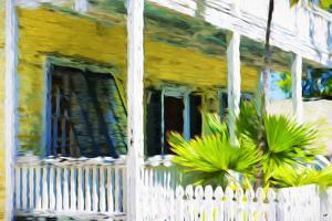 Colonial House II - In the Style of Oil Painting by Philippe Hugonnard