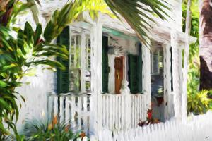 Colonial House III - In the Style of Oil Painting by Philippe Hugonnard