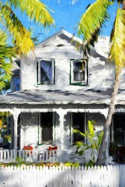 Colonial House VI - In the Style of Oil Painting by Philippe Hugonnard
