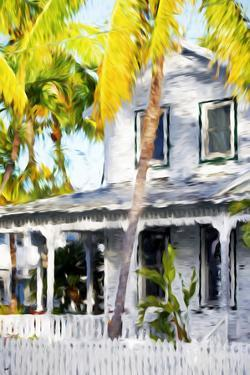 Colonial House VII - In the Style of Oil Painting by Philippe Hugonnard