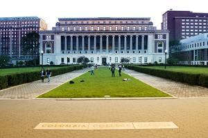Columbia University - College - Campus - Buildings and Structures - Manhattan - New York - United S by Philippe Hugonnard