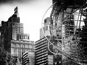 Columbus Circle, Globe Sculpture, 59 Street and Columbus Ave, Essex House Building, New York City by Philippe Hugonnard