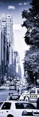 Columbus Circle, Yellow Cab and NYPD Vehicule, Central Park West, Manhattan, New York by Philippe Hugonnard