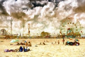 Coney Island Beach by Philippe Hugonnard