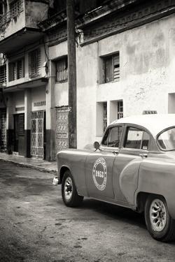 Cuba Fuerte Collection B&W - 1953 Pontiac Original Classic Car III by Philippe Hugonnard