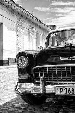 Cuba Fuerte Collection B&W - 1955 Chevy Classic Car IV by Philippe Hugonnard