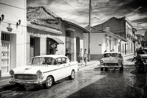Cuba Fuerte Collection B&W - 321 Carmen Cervera - Street Scene by Philippe Hugonnard