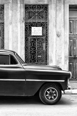 Cuba Fuerte Collection B&W - Bel Air Chevy III by Philippe Hugonnard