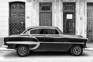 Cuba Fuerte Collection B&W - Bel Air Chevy by Philippe Hugonnard