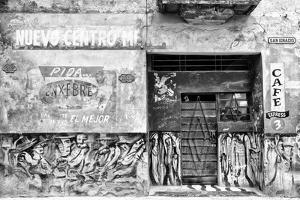 Cuba Fuerte Collection B&W - Cafe Express Havana by Philippe Hugonnard