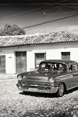 Cuba Fuerte Collection B&W - Chevrolet Cars IV by Philippe Hugonnard