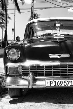 Cuba Fuerte Collection B&W - Chevy Classic Car IV by Philippe Hugonnard