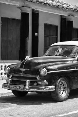 Cuba Fuerte Collection B&W - Chevy Deluxe IV by Philippe Hugonnard
