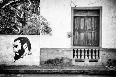 Cuba Fuerte Collection B&W - Cuban Façade by Philippe Hugonnard