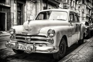 Cuba Fuerte Collection B&W - Vintage Cuban Dodge by Philippe Hugonnard