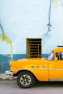 Cuba Fuerte Collection - Classic American Orange Car by Philippe Hugonnard
