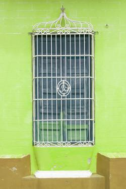 Cuba Fuerte Collection - Colorful Cuban Window II by Philippe Hugonnard