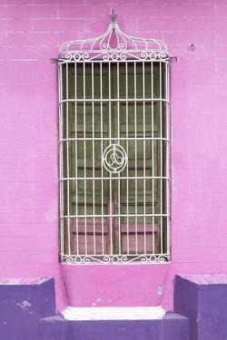 Cuba Fuerte Collection - Colorful Cuban Window V by Philippe Hugonnard