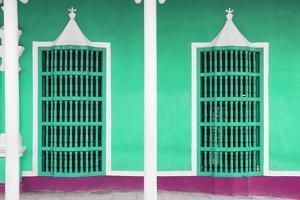 Cuba Fuerte Collection - Coral Green Facade by Philippe Hugonnard