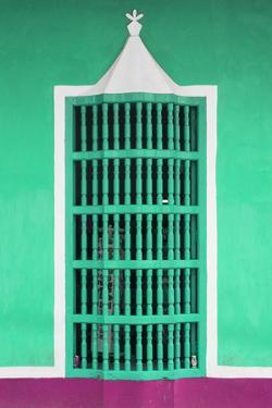 Cuba Fuerte Collection - Coral Green Window by Philippe Hugonnard