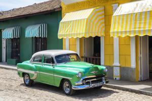 Cuba Fuerte Collection - Cuban Green Taxi by Philippe Hugonnard