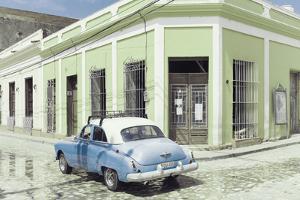 Cuba Fuerte Collection - Cuban Street Scene III by Philippe Hugonnard