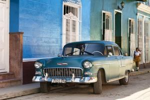 Cuba Fuerte Collection - Cuban Street Scene by Philippe Hugonnard