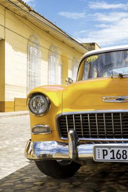 Cuba Fuerte Collection - Cuban Yellow Car - 1955 Chevy by Philippe Hugonnard