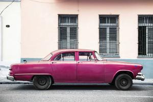 Cuba Fuerte Collection - Dark Pink Car by Philippe Hugonnard