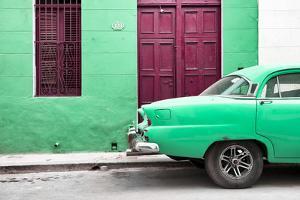 Cuba Fuerte Collection - Havana 109 Street Green by Philippe Hugonnard