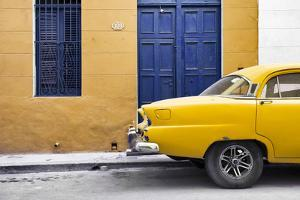 Cuba Fuerte Collection - Havana 109 Street Yellow by Philippe Hugonnard