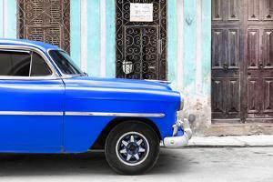 Cuba Fuerte Collection - Havana Blue Car by Philippe Hugonnard