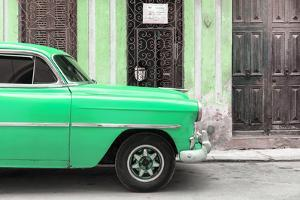 Cuba Fuerte Collection - Havana Green Car by Philippe Hugonnard