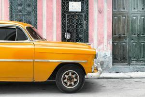 Cuba Fuerte Collection - Havana Orange Car by Philippe Hugonnard